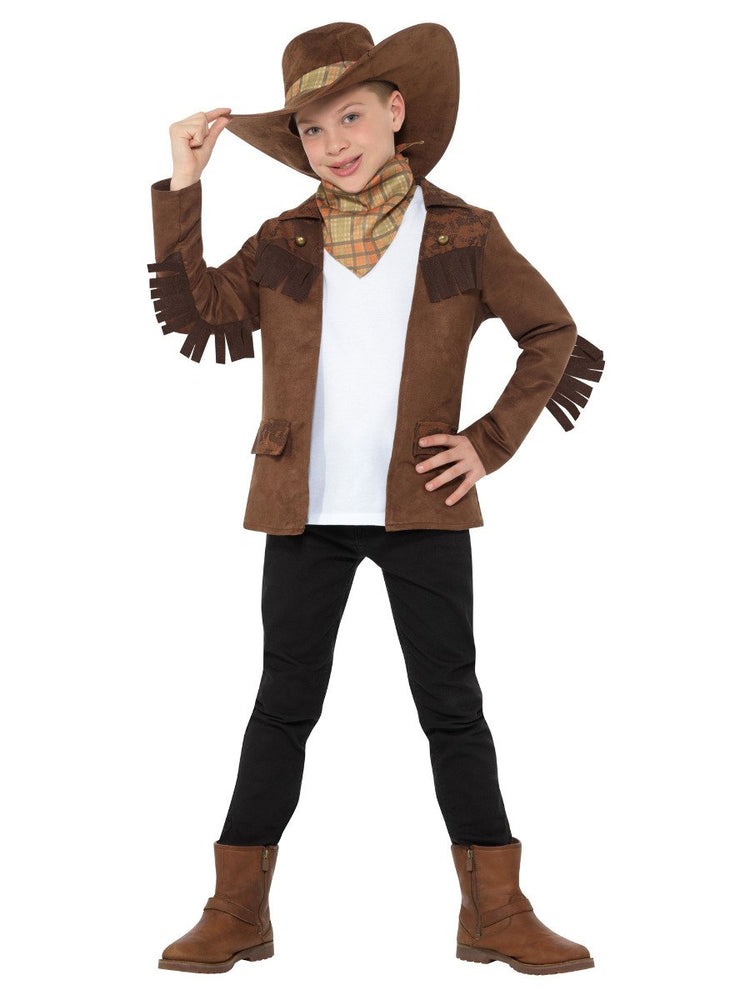 Smiffys Sheriff Boy Costume - 47652