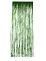 Smiffys Shimmer Curtain, Metallic Green - 46917