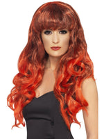 Siren Wig, Red & Black