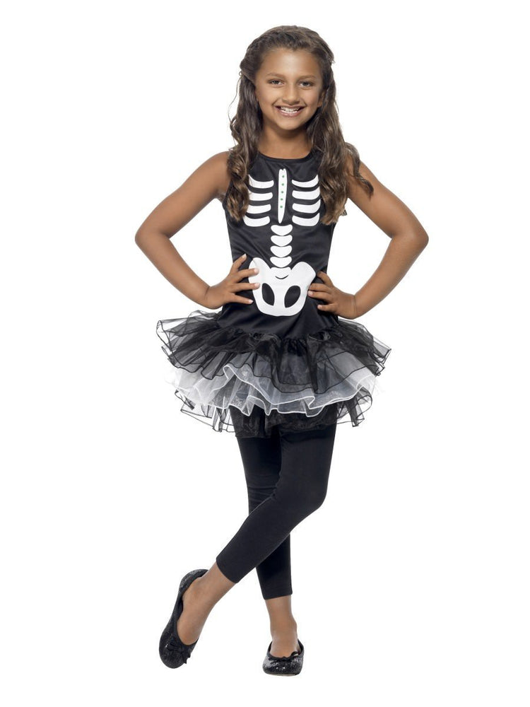 Skeleton Tutu Costume, Child