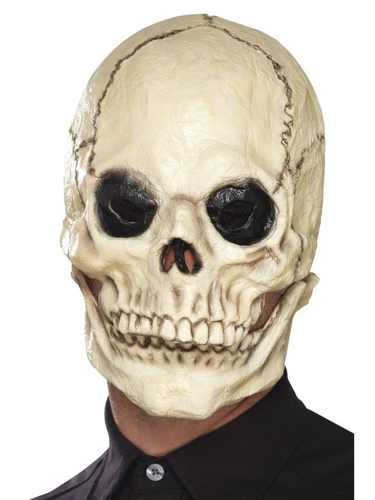 Smiffys Skull Mask, Foam Latex - 44887