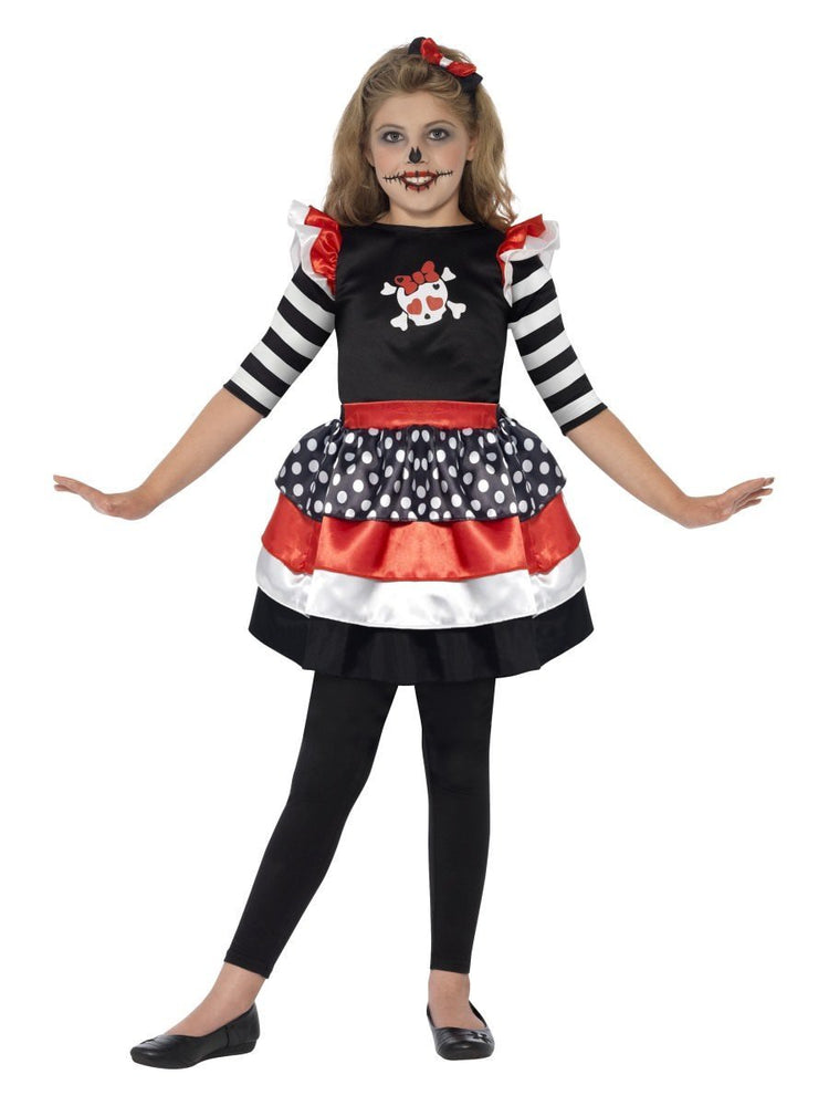 Smiffys Skully Girl Costume - 44288