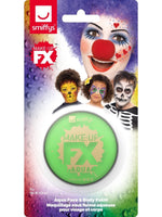 Smiffys Smiffys Make-Up FX, on Display Card, Lime Green - 47026