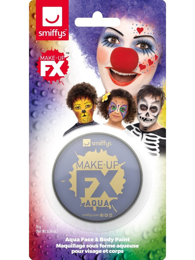Smiffys Smiffys Make-Up FX, on Display Card, Purple - 47036