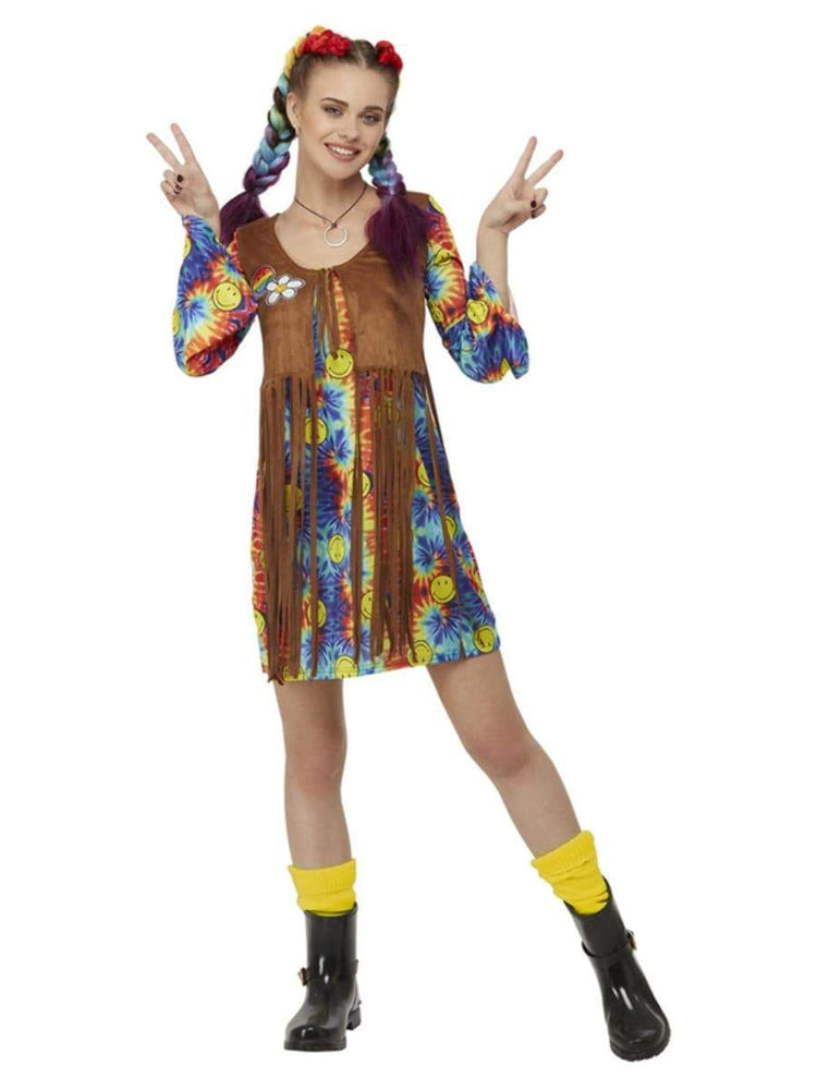 Smiffys Smiley Hippy Dress - 52332