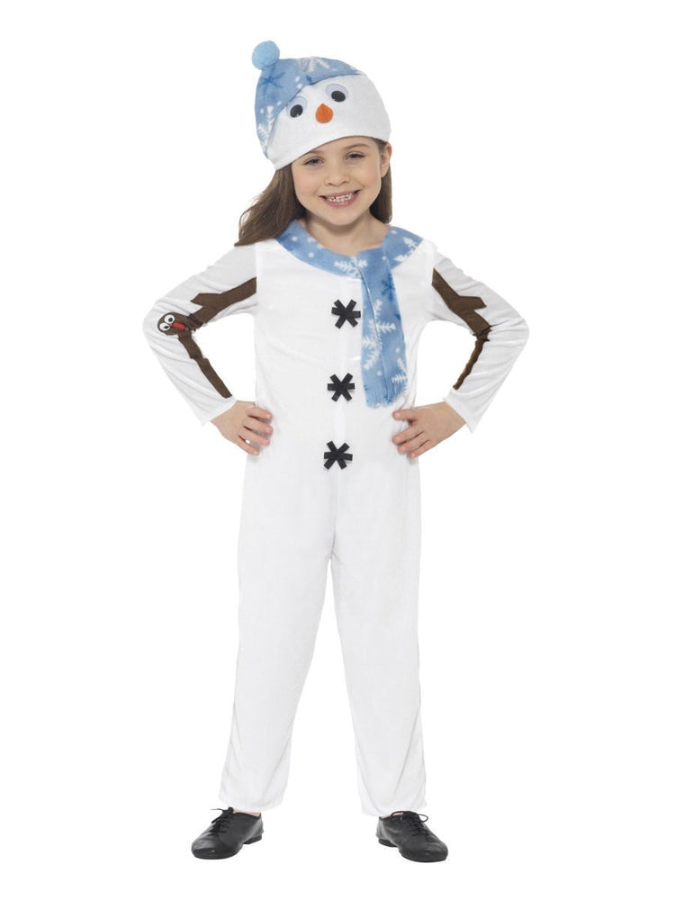 Smiffys Snowman Toddler Costume - 21480