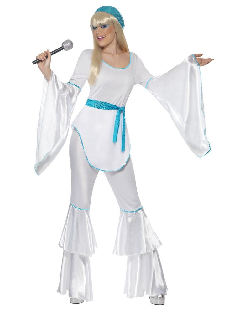 Smiffys Super Trooper Costume, White - 33483