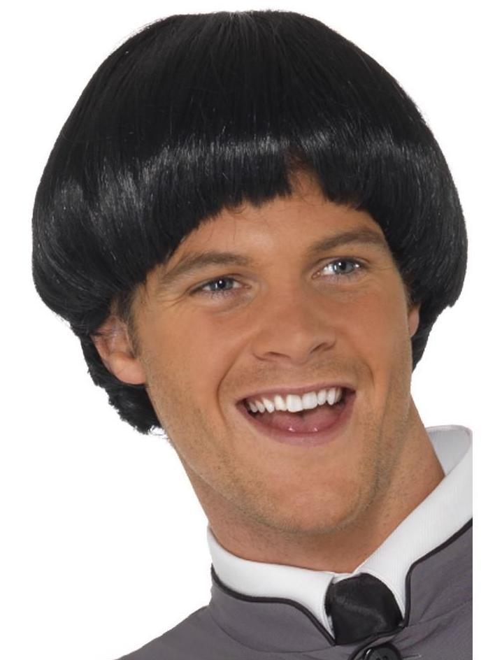 Swinging 60s Bowl Wig Black