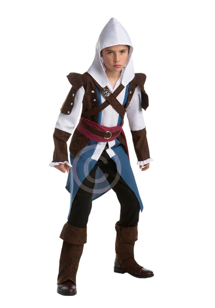 Edward Kenway Costume, Teen