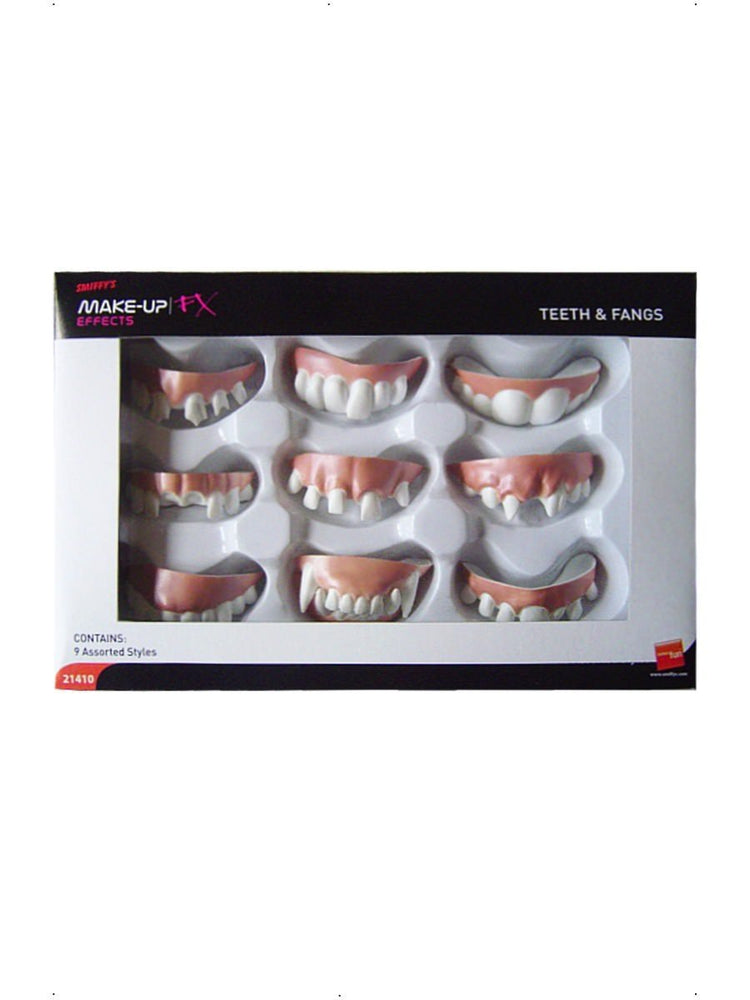 Smiffys Teeth and Fangs, Assorted Styles - 21410