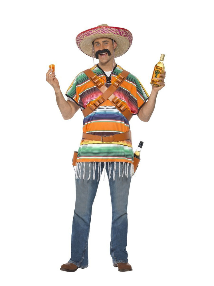 Smiffys Tequila Shooter Guy Costume - 29233