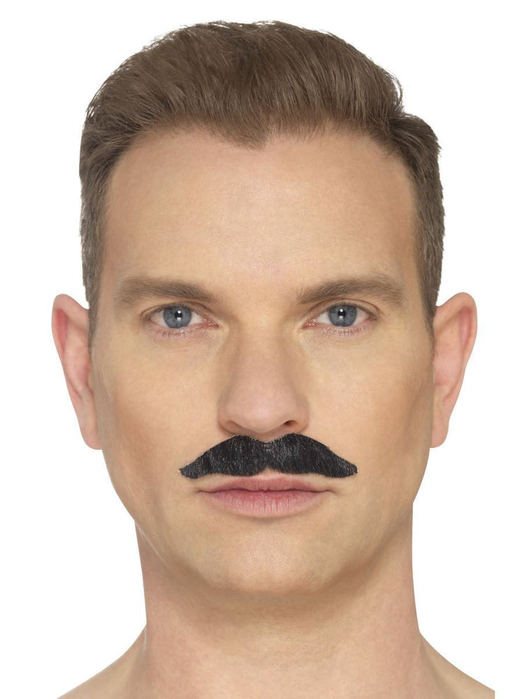 Smiffys The Professional Moustache, Black - 44700