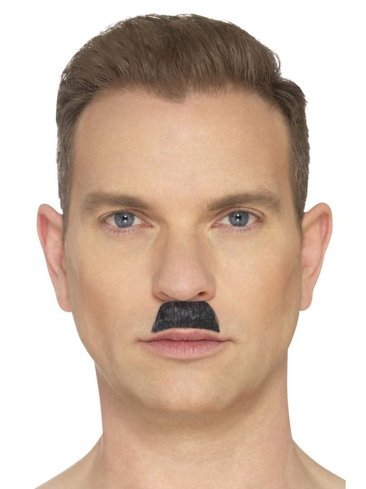 Smiffys The Toothbrush Moustache, Black - 44750