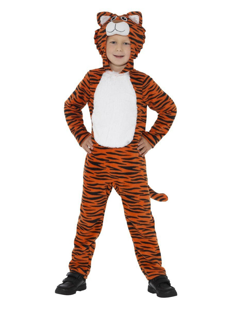Smiffys Tiger Costume, Orange & Black - 46754