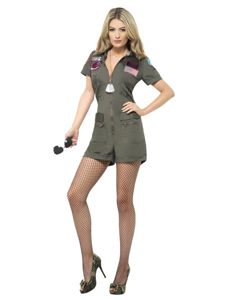 Ladies Top Gun Aviator Costume