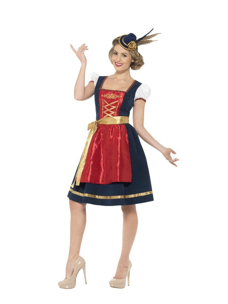 Traditional Claudia Bavarian Costume, Deluxe
