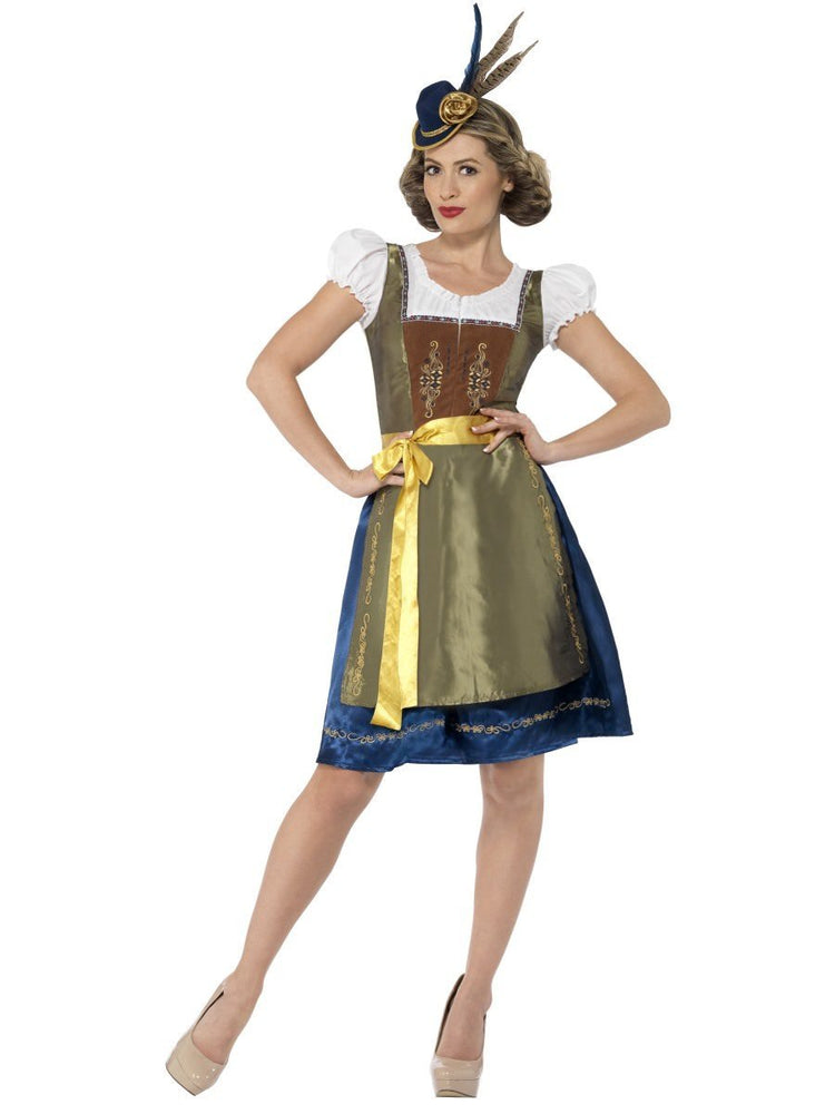 Traditional Heidi Bavarian Costume, Deluxe