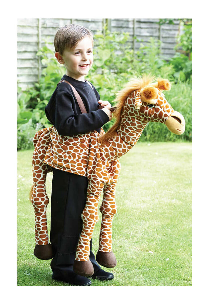 Ride On Giraffe Child
