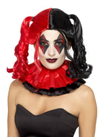 Smiffys Twisted Harlequin Wig, Black & Red - 48049