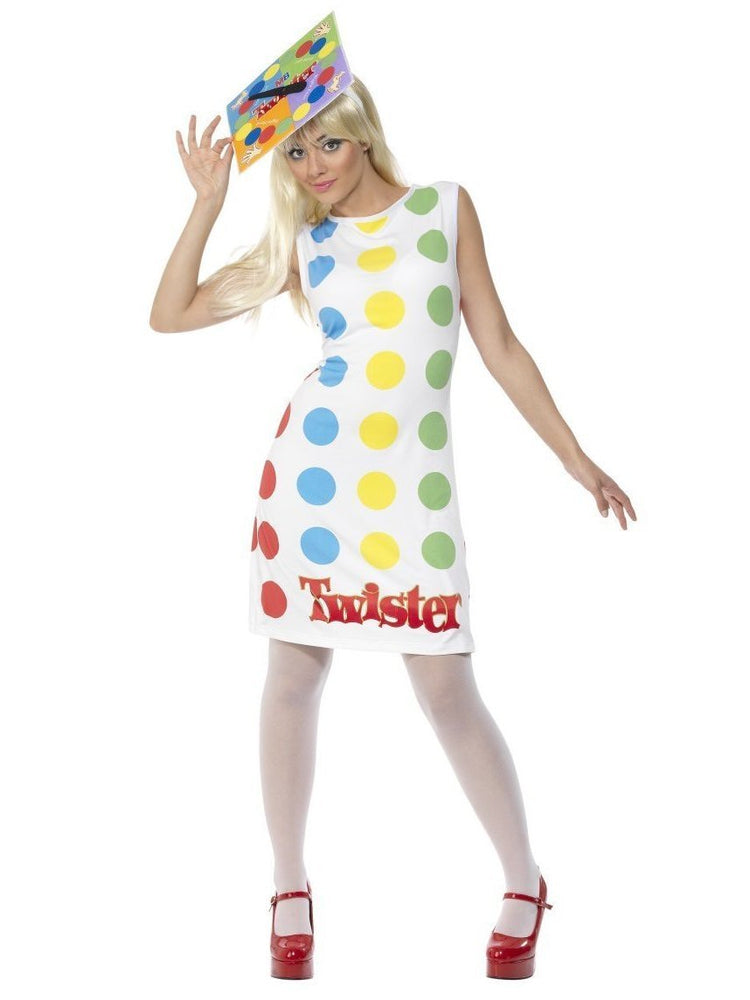 Twister Dress and Hat Costume