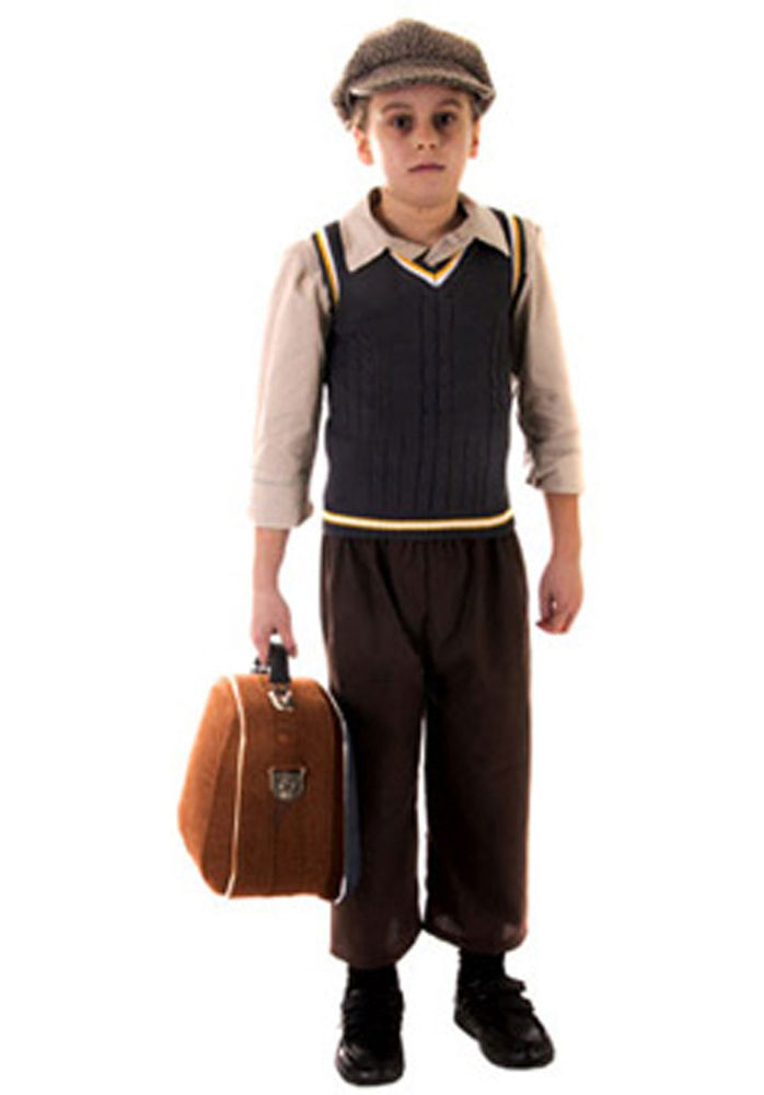 Evacuee Boy Costume