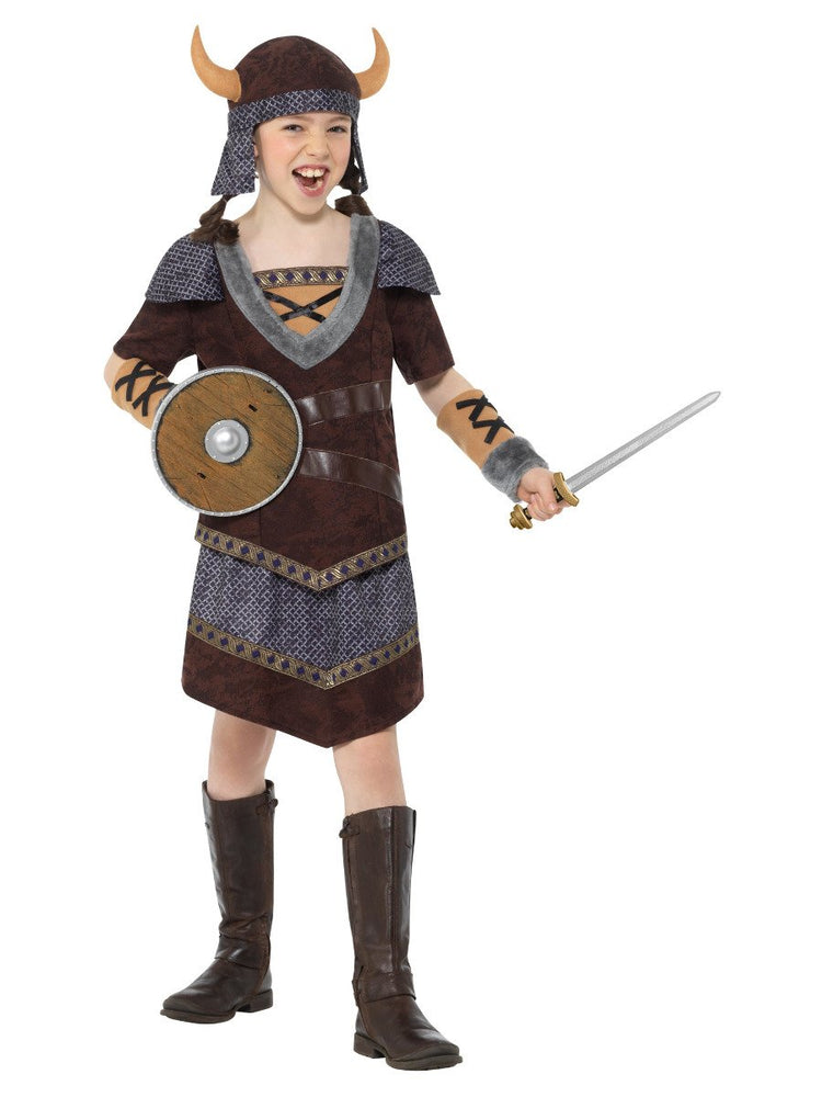 Smiffys Girls Viking Costume - 47661