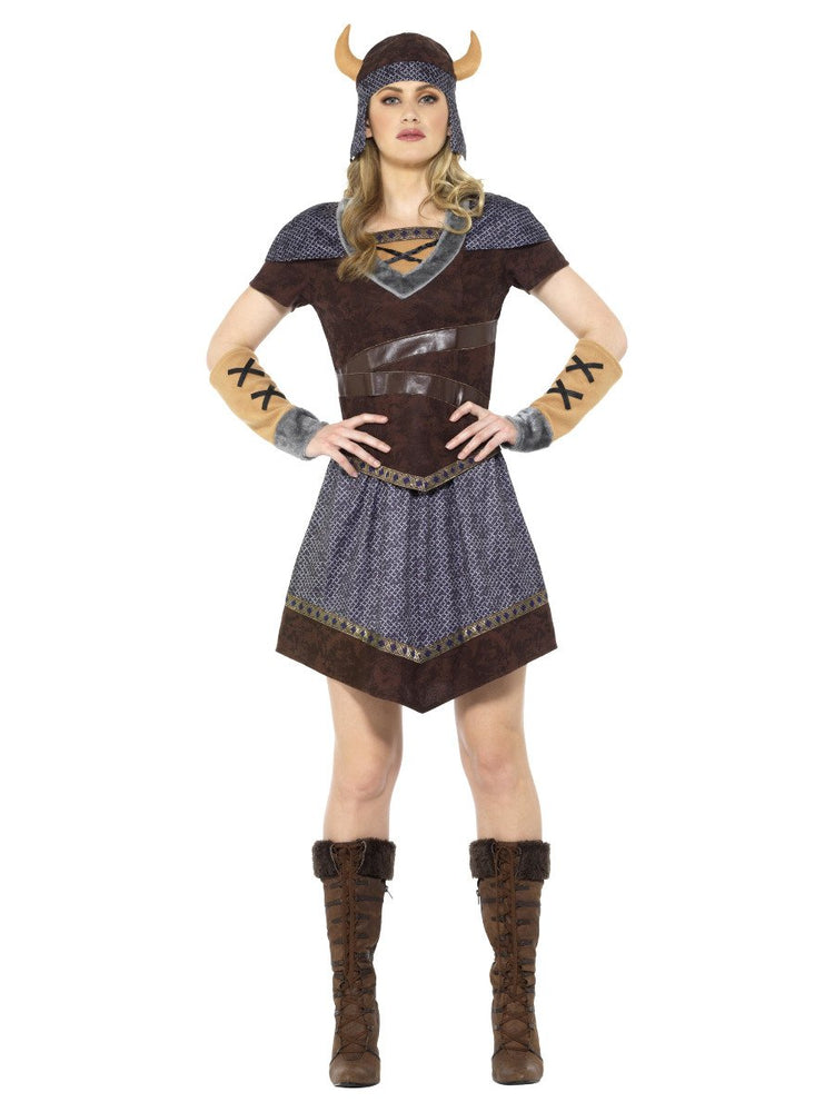 Smiffys Viking Lady Costume - 47659