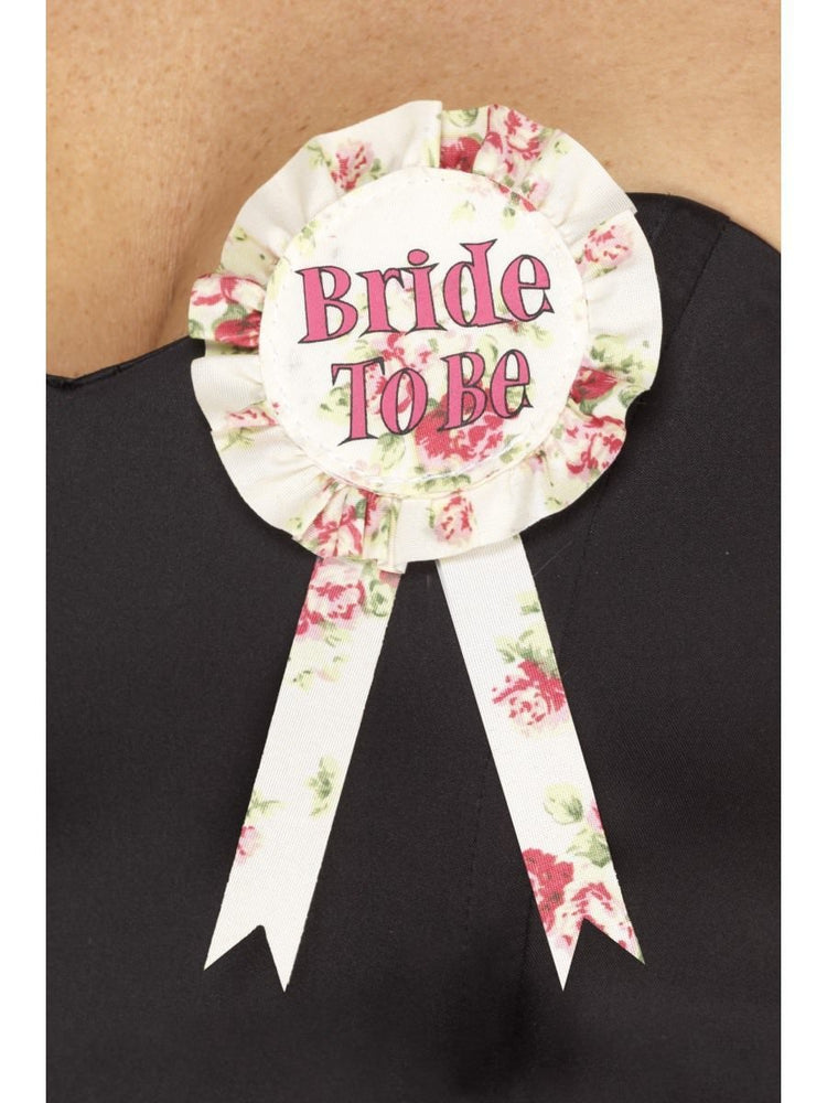 Vintage Bride to Be Rosette