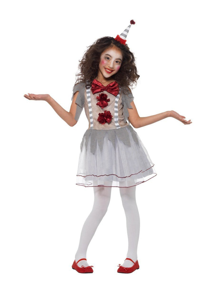Vintage Clown Girl Costume - S