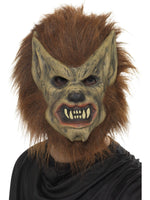 Smiffys Werewolf Mask, Brown - 20301