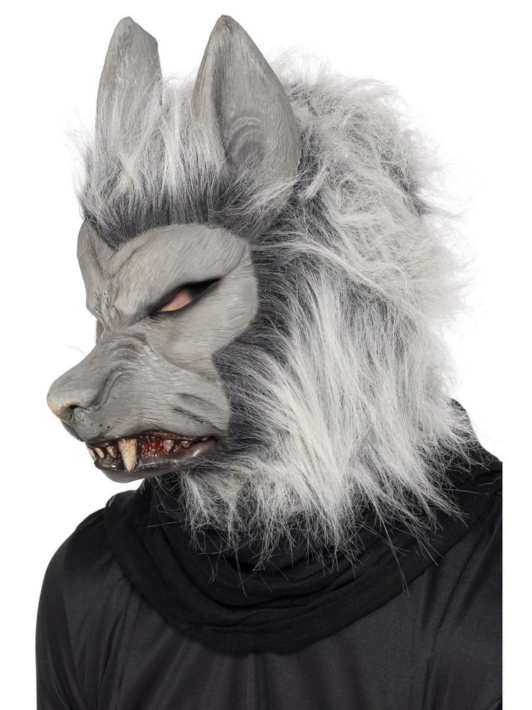 Werewolf Mask with Hair