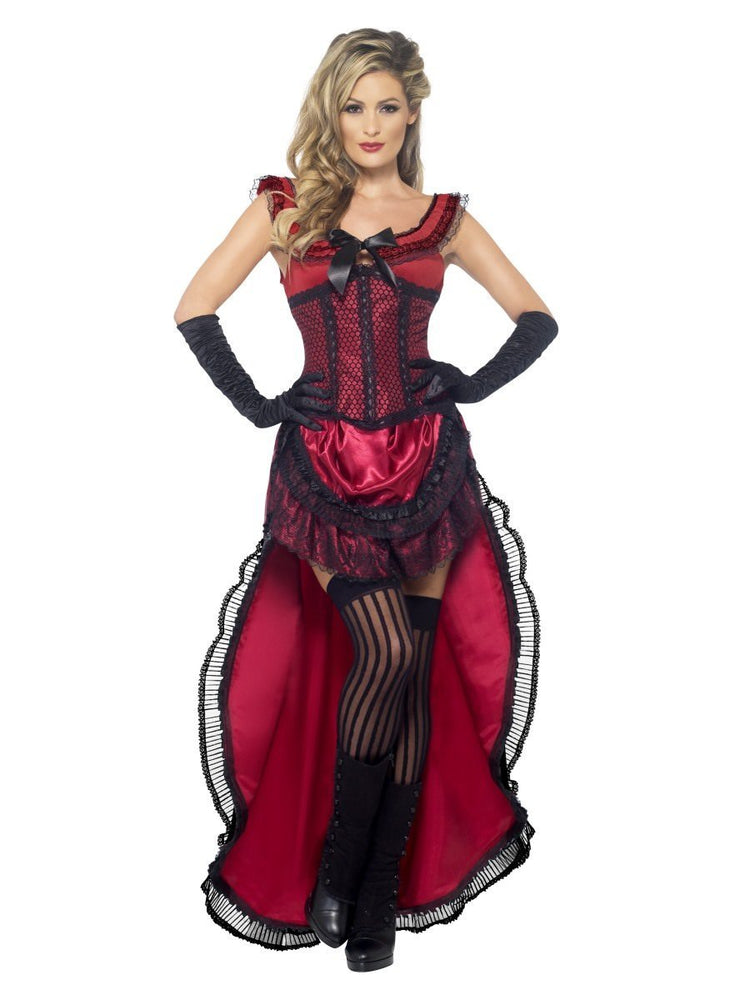 Western Authentic Brothel Babe Deluxe Costume