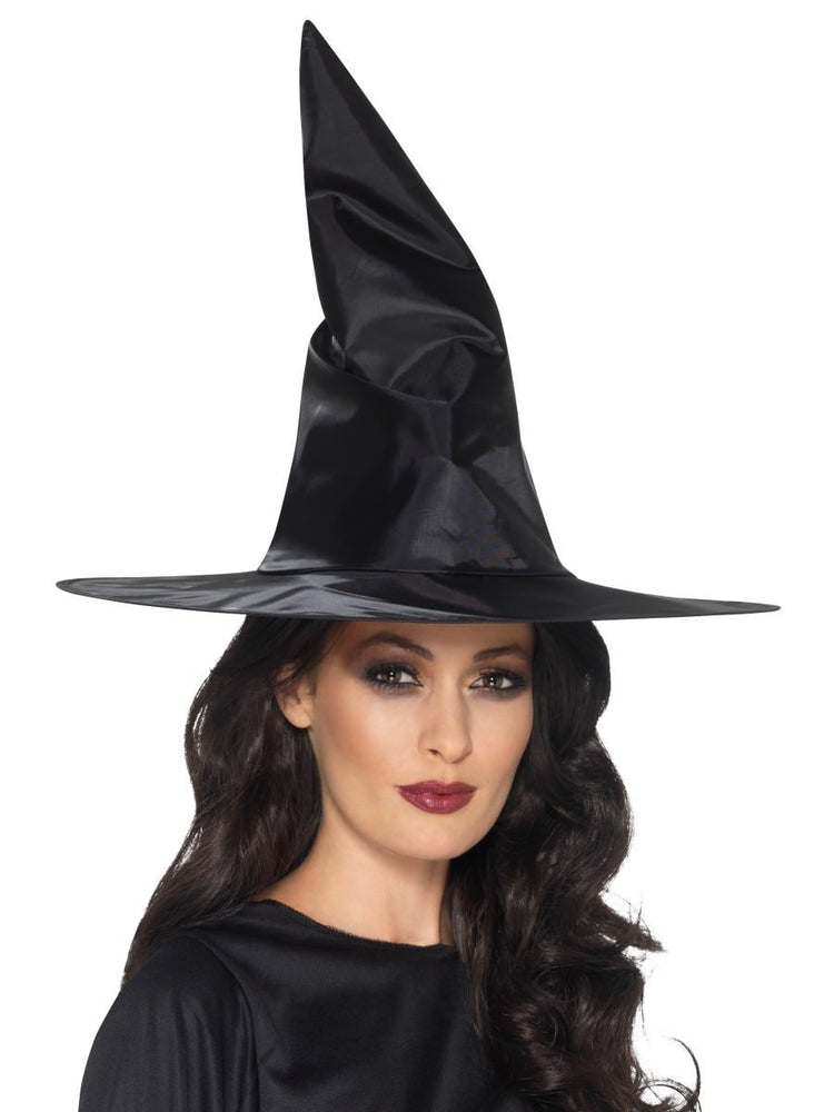 Wired Nylon Witch Hat