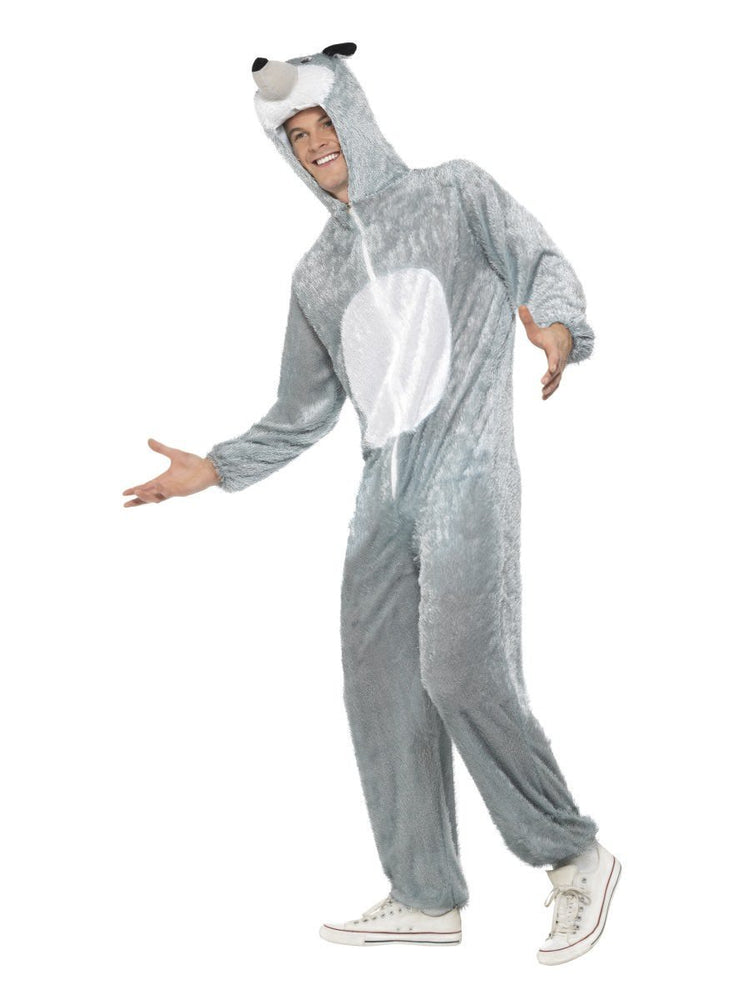 Wolf Costume, includes Jumpsuit with Hood31673