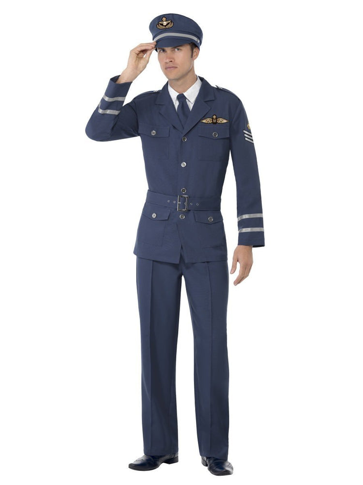 WW2 Air Force Captain Male Costume