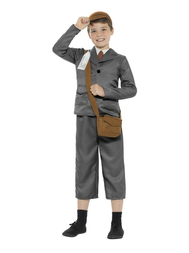 WW2 Evacuee Boy Costume - T