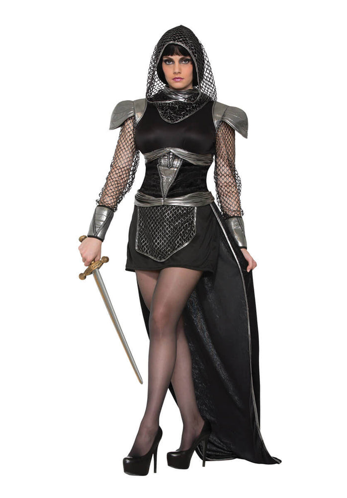 Ladies Knights of Glamour Costume