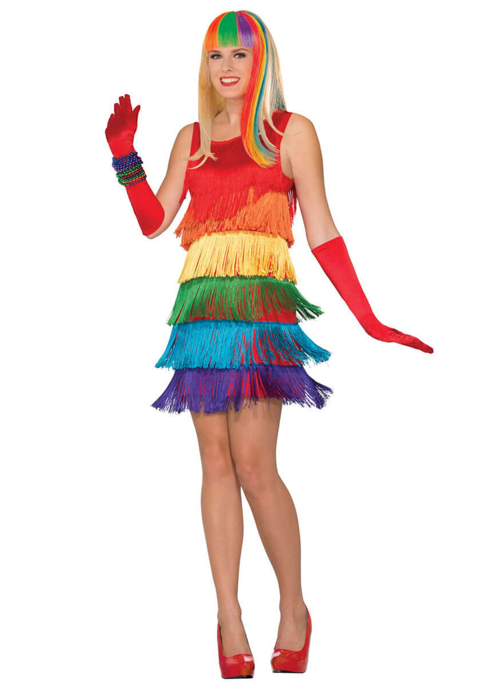 Rainbow Shimmy Flapper