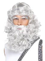 Zeus Wig Beard and Eyebrows