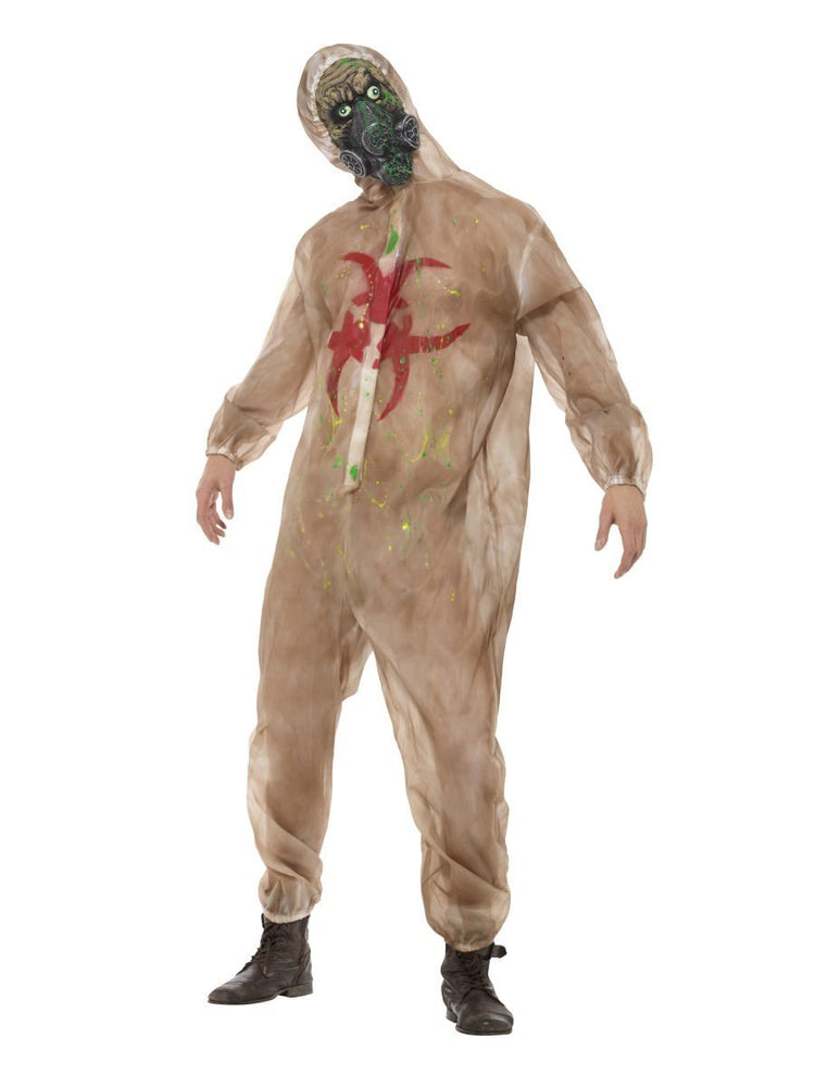 Smiffys Zombie Biohazard Adult Men's Costume - 48217