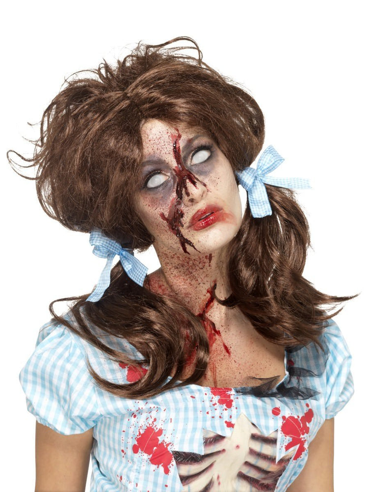 Smiffys Zombie Bloody Country Girl Wig - 46857