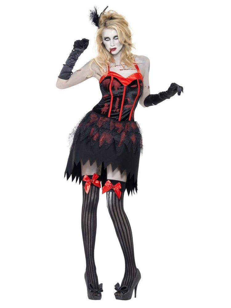 Zombie Burlesque Costume, Fever Collection