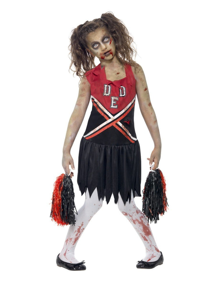 Zombie Cheerleader Costume, Child