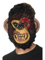 Smiffys Zombie Chimp Mask - 46993