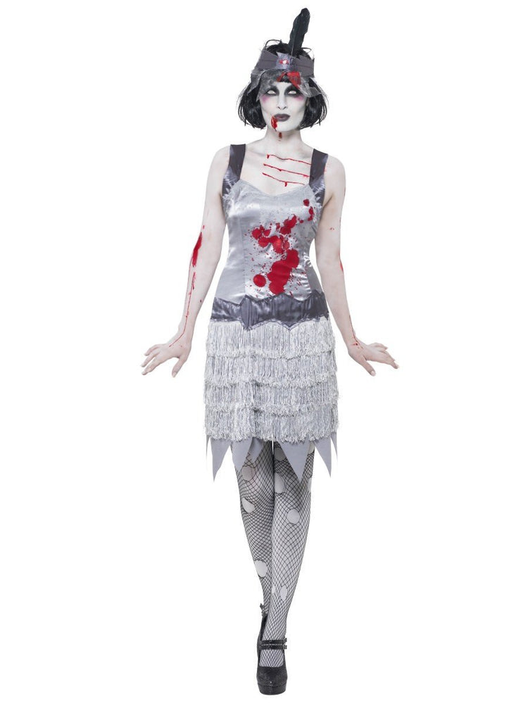 Zombie Flapper Dress Costume