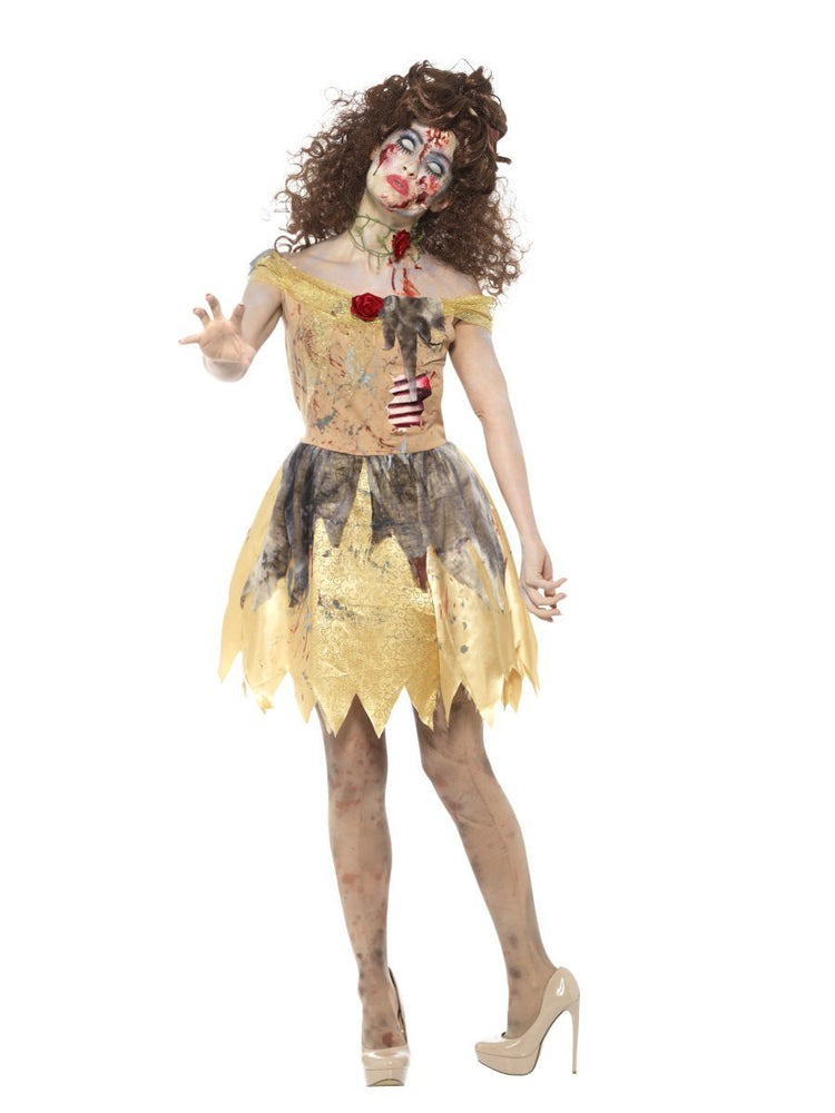 Smiffys Zombie Golden Fairytale Adult Women's Costume - 46861