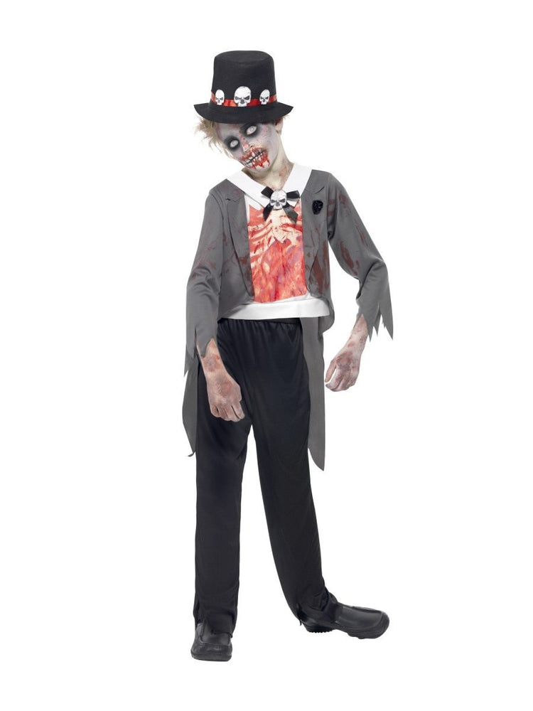 Zombie Groom Costume, Child