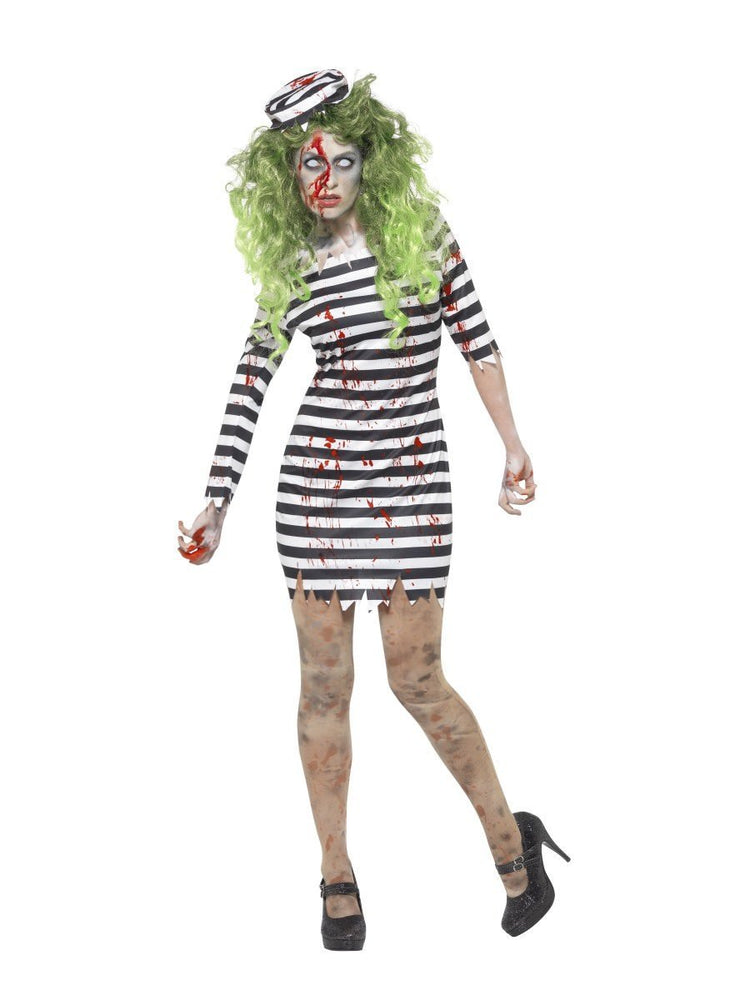Smiffys Zombie Jail Bird Adult Women's Costume - 45523
