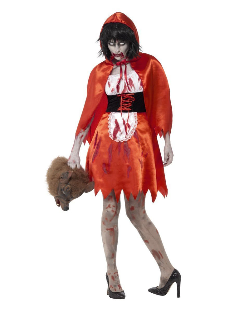 Zombie Little Miss Hood Costume - S