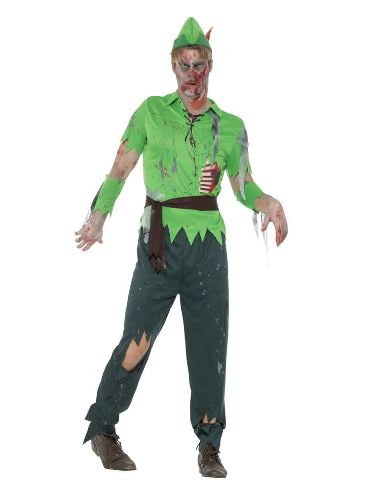 Smiffys Zombie Lost Boy Adult Men's Costume - 46867